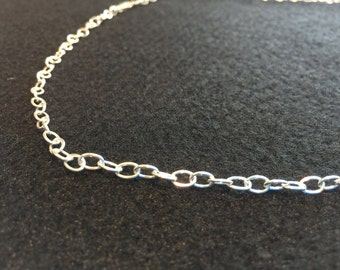 Sterling Silver - 20 Inch - Cable Chain