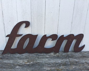 FARM Script Word