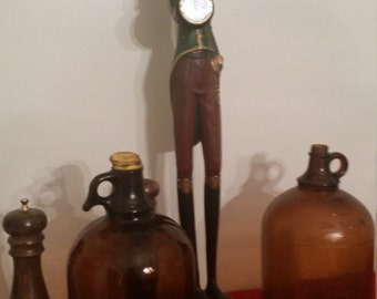 Clorox Bottles Antique Amber Bottles (2)