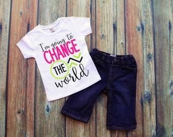 I'm Going To Change The World Tee