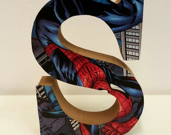 CUSTOM MADE! Wooden Comic Letter Decoration