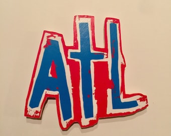 ATL Wooden Magnet (two sizes!)