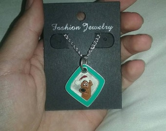SALE! Christmas Scooby Doo necklace!