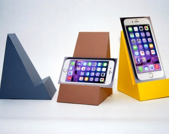 Phone/Postcard/Photo Stand. Make Your Own desktop organizer from Paper.