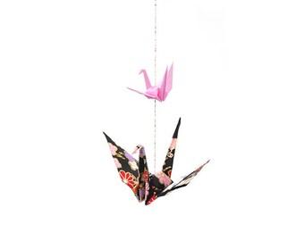 Single Strand of 2 Origami Cranes