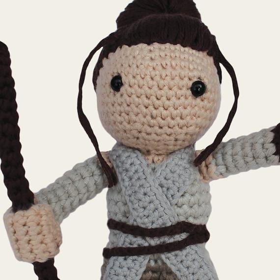 Rey Amigurumi Star Wars : Rey Star Wars. Amigurumi Pattern PDF DIY Crafts Crochet
