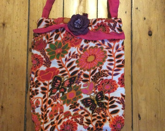 Pretty handmade bag