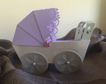 Baby shower favor, party favor, candy holder, favor box