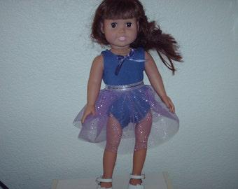 Purple ballerina for American Girl doll.