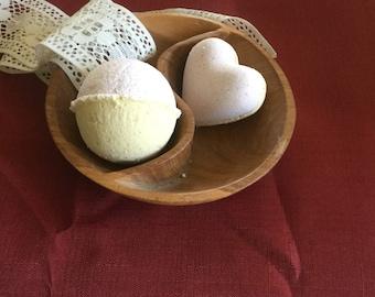 Lemongrass Patchouli Bath Bombs- Nut Free