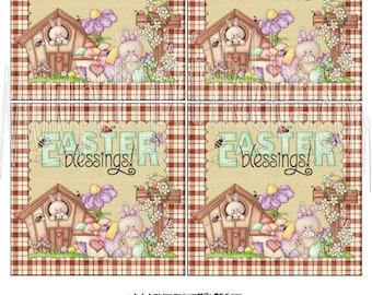 4 x 4 Easter Blessings Instant Download DIY DiGiTaL Printable Hang Tags + 3 FREE Printables!