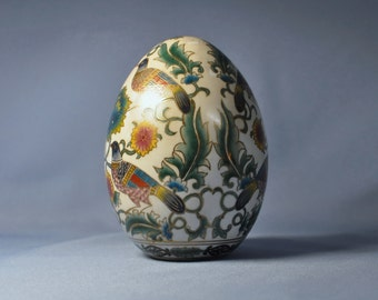 Antique Chinese Hand Painted Art Egg DSC_00314