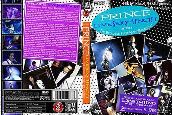 Prince Lovesexy Tour Live Dortmund Germany 9/09/88 Very Rare DVD