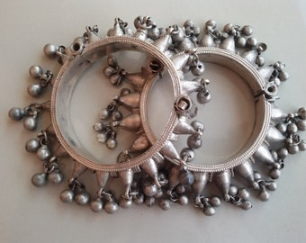 Bracelet tribal pic argent Kuchi