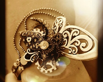 Exclusivity Steampunk Luxury Brass Bangle_L055540_Steampunk Gifts_LUX_Free Shipping