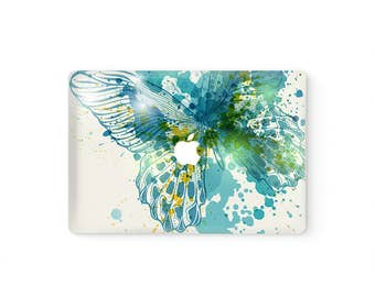 MacBook Top Front Lid Cover MacBook Decal MacBook Skin MacBook Sticker Air/Pro/Retina Display Touch Bar 11 12 13 15 17 inch Butterfly
