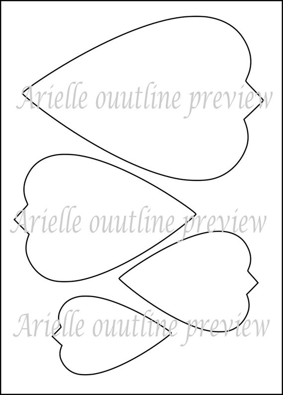 Rare image within paper flower templates printable