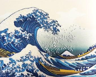 Great Wave of Kanagawa Paper Art
