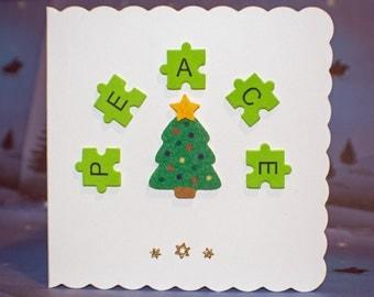 Christmas Word Art - Peace