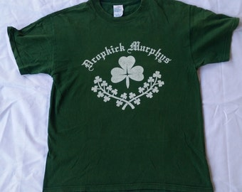 Vintage 90s Dropkick Murphys Celtic Punk Shirt
