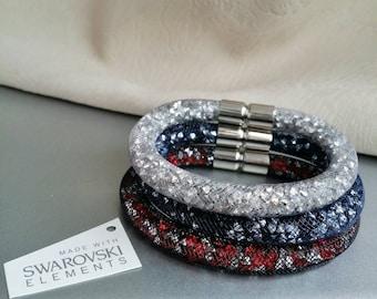 1pc Swarovski Stardust Bracelet - choose your color