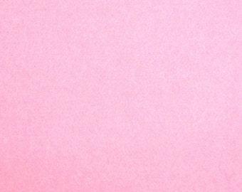 1mm Wool Felt - Baby Pink