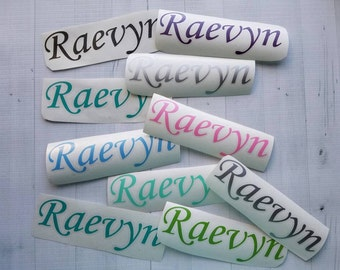 Personalized Name Decal | Any Word Decal | Word Vinyl Decal | Any Name Sticker | Cup Decal | | Phone Decal | Laptop Decal | Yeti Decal