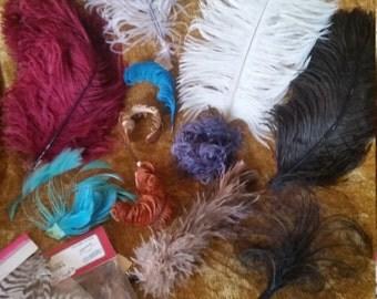 Feathers, Vintage