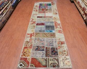 "Free Shipping Runer Hall Rug 2'9"" x 9'7"" Turksih Decorative Floor Rug Vegetable Dyed Nomadic Turkish Rug"