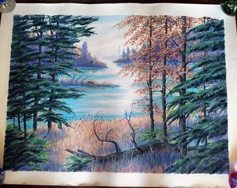 LAKESIDE by Steve Bloom Artist Proof signed in Pencil
