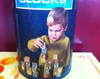 1972 Playskool Wood Blocks