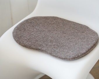 Chair cushions in taupe suitable for Panton Chair, limited