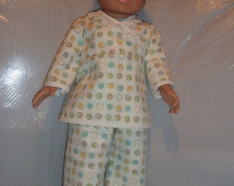"1  doll pj set- fits american girl and other 18"" dolls"