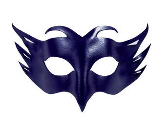 Leather Mask - Bird - Leather Party Cosplay Mask