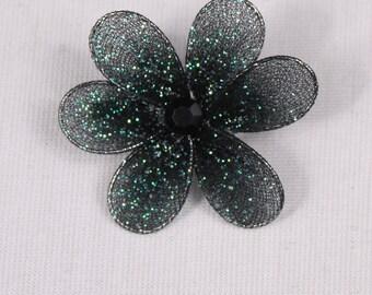 4 pin 35mm, green polyester/metal (9223)