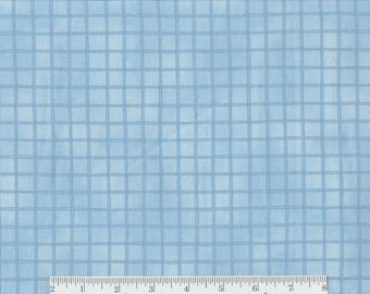 Green or Blue Squares - Per Yd - Quilting Treasures - Woodsy Wonder - Fences