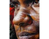 Face Street Art - Canvas/...