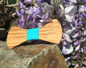Children's Olive Wood Bowtie