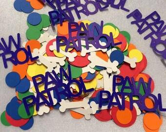 450 pc, Paw patrol confetti, paw patrol party, birthday confetti, paw patrol birthday, paw patrol boy, paw patrol confetti