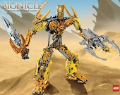 Bulk LEGO Lot of Over 500 Bionicle Pieces Like New! Great Variety! Like New!