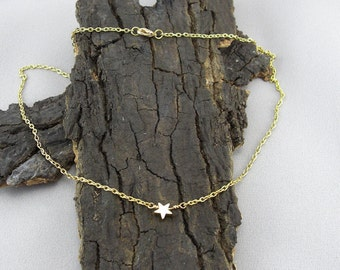 Necklace pendant Star Gold Star
