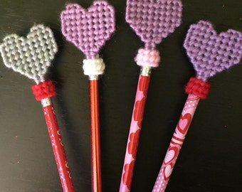 Valentine's Pencil w/ topper