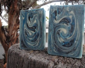 Blue Steel Mens Cold Processed Soap