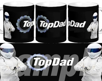 Personalised Top Gear Top Dad The Stig Coffee Mug