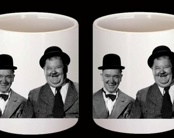 Personalised Laurel & Hardy Mug