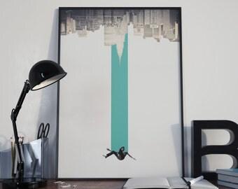 Falling Man / Poster