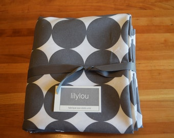 Dwell Dots - 54x90 Tablecloth - Custom Sizes Available