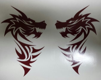 Double Dragons decal
