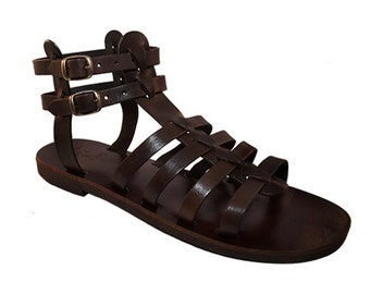 Ypsilon leather sandals