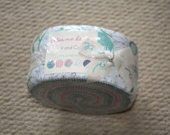 Moda Jelly Roll - V and Co Color Me Happy
